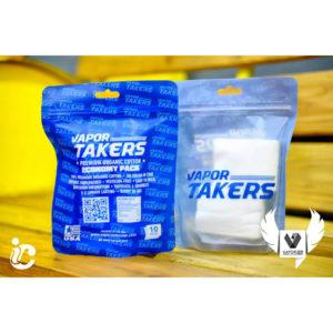 Vapor Takers Premium Organic Cotton