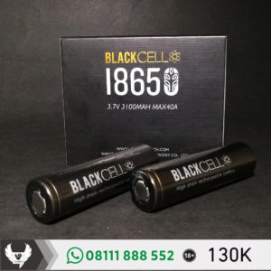 Battery Black Cell 18650 3100mAh 40A
