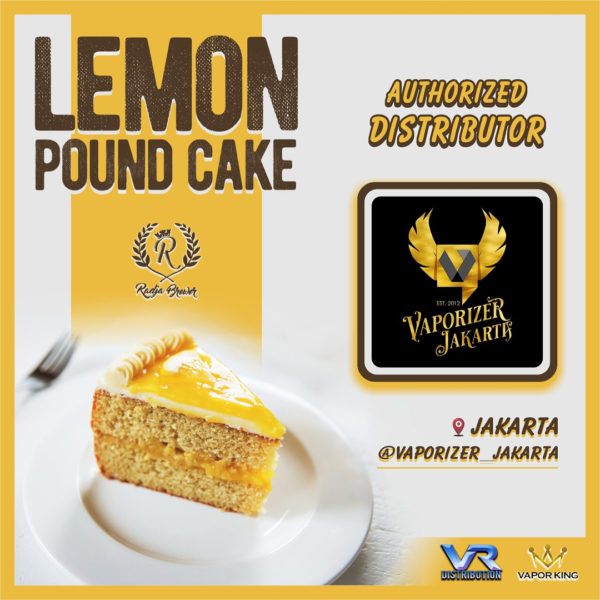 Lemon Pound Cake Liquid